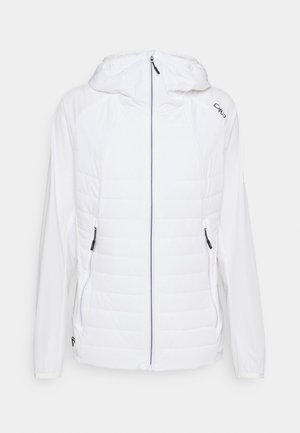 WOMAN FIX HOOD JACKET - Outdoor jacket - bianco