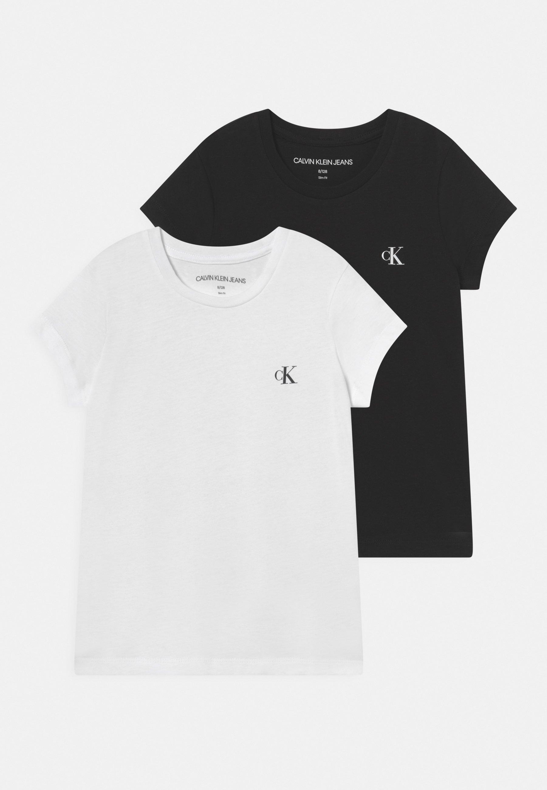 Kids SLIM MONOGRAM 2 PACK - Basic T-shirt