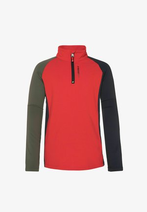 1/4 BOZ 21 JR - Fleece jumper - mars red