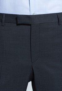 Strellson - MERCER - Suit trousers - anthracite mottled - 5