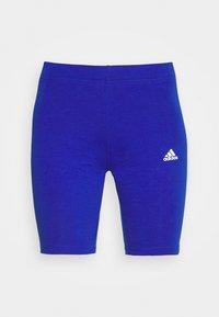 Leggings - bold blue/white