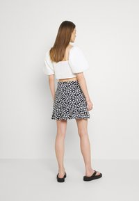 EDITED - AURORA SKIRT - Mini skirt - dark blue/white - 2