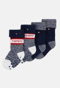 Tommy Hilfiger - BABY SOCK FOLD OVER 4 PACK - Sokken - tommy original - 0