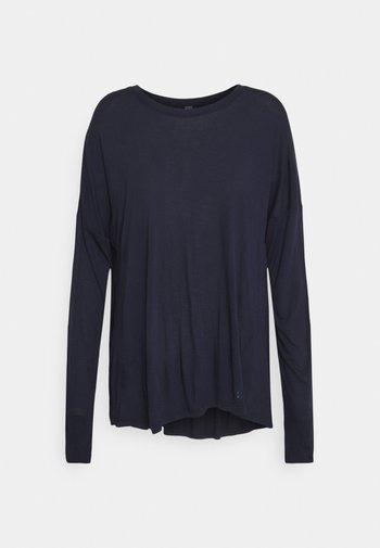 EASY PEAZY - Camiseta de manga larga - navy blue