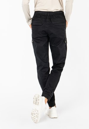 Cargo trousers - black