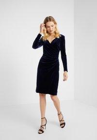 Lauren Ralph Lauren - RADIANT DRESS - Cocktail dress / Party dress - lighthouse navy - 0