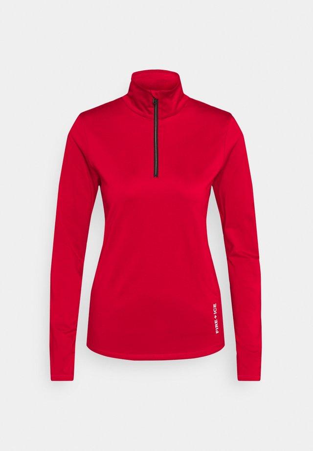 MARGO - Bluza z polaru - red