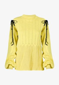 Solai - Jumper - celery yellow - 6
