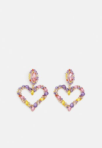 PCJANICE EARRINGS - Earrings - gold color