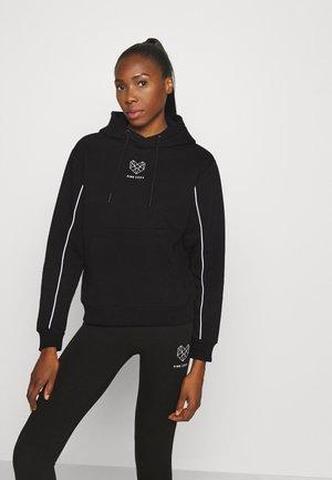 KANE BOYFRIEND HOODIE - Sweater - black/white