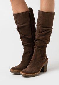 El Naturalista - HAYA - High heeled boots - brown - 0