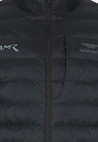 Hackett Aston Martin Racing - AMR LW QUILT RACER - Giacca da mezza stagione - black - 2