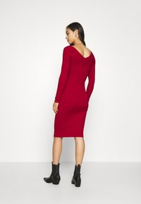 Even&Odd - JUMPER DRESS - Shift dress - red - 2