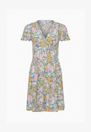 Day dress - leichtes grüngelb
