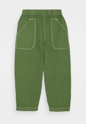 TROUSER - Stoffhose - green medium dusty