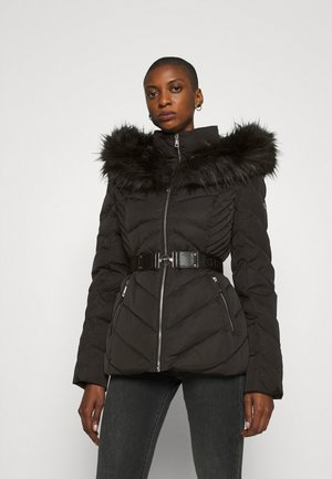 SARA SHORT JACKET - Down jacket - jet black