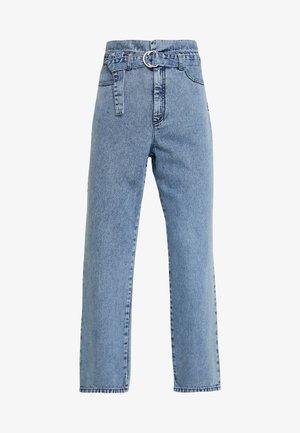 PIETTA - Straight leg jeans - light-blue denim
