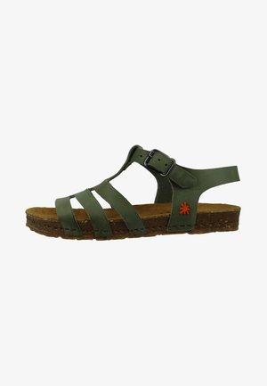 CRETA  - Walking sandals - green