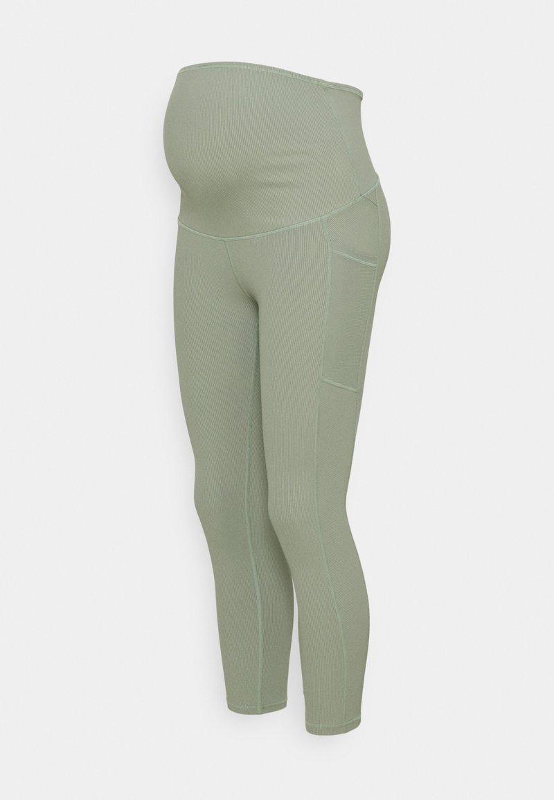 Cotton On Body - MATERNITY POCKET 7/8 - Punčochy - basil green