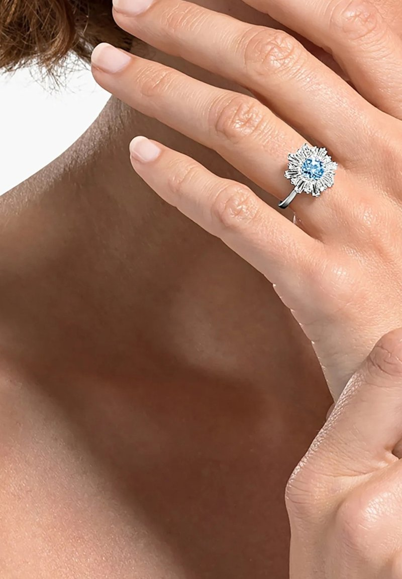 Swarovski - Ring - silber