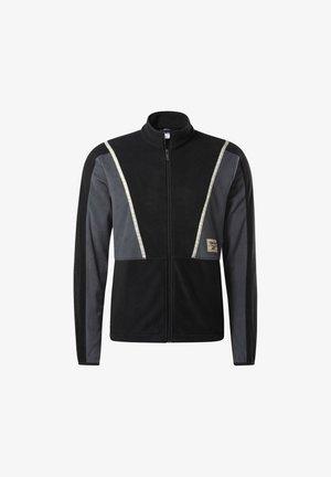 CLASSICS WINTER ESCAPE TRACK TOP - Fleece jacket - black