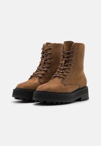 Even&Odd Wide Fit - Winter boots - dark brown - 2