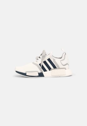 NMD R1 UNISEX - Matalavartiset tennarit - white/crew navy/grey two