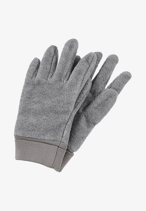 Gloves - silver melange