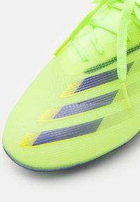 adidas Performance - X GHOSTED.1 FOOTBALL BOOTS FIRM GROUND UNISEX - Moulded stud football boots - signal green/enrgy ink/semi solar slime - 5