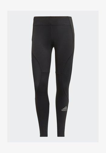 3-STRIPES SPORTS LOOSE - Leggings - black