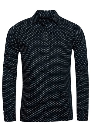NYC PRINT - Camicia - micro stars black
