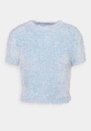 Triko spotiskem - light blue