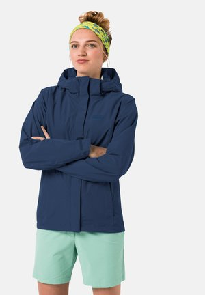 Outdoor jacket - dark indigo