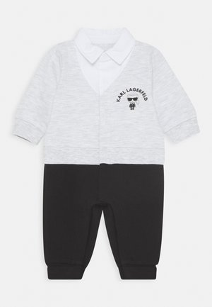 ALL IN ONE - Jumpsuit - grey/black