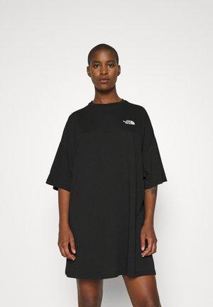 TEE DRESS - Trikoomekko - black