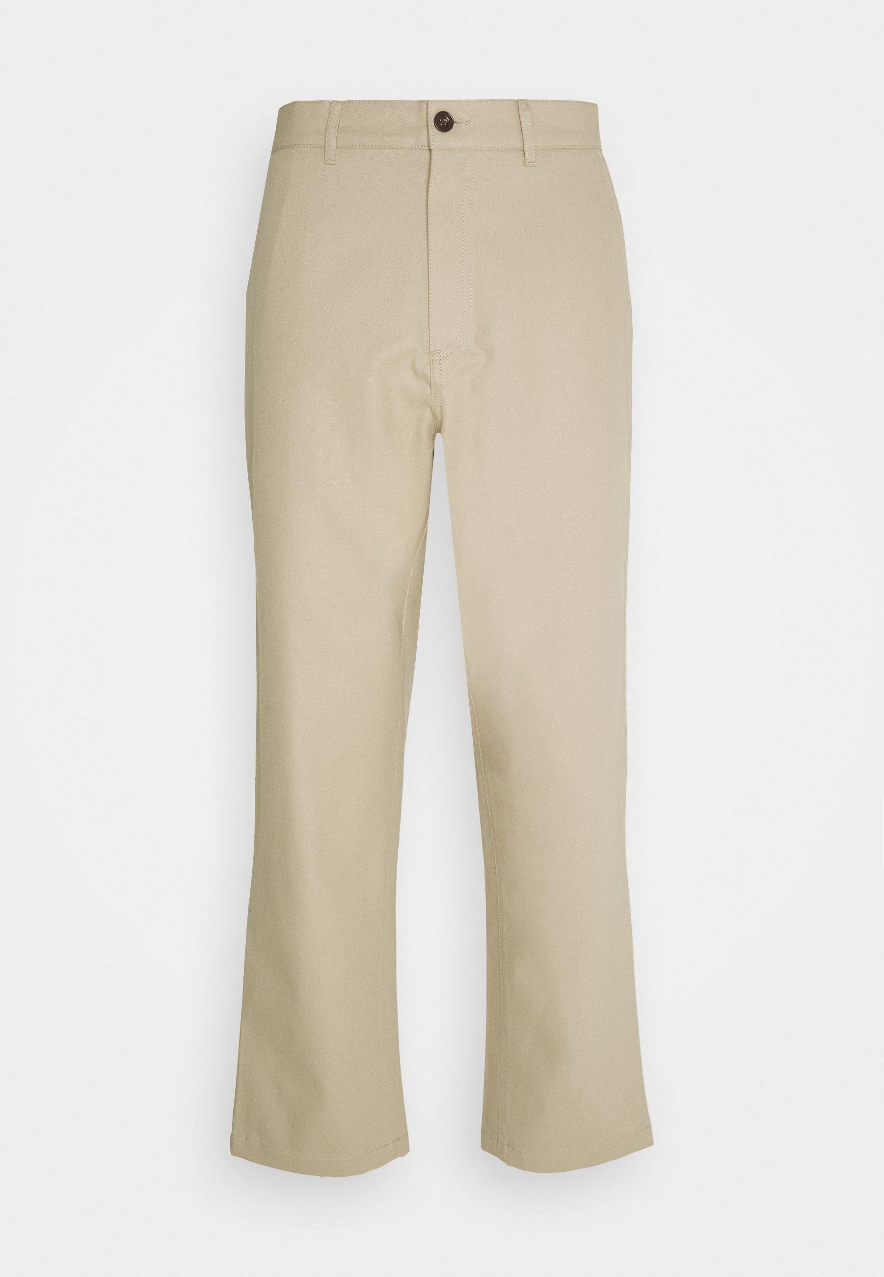 Men HAWTIN CROP HOPSACK - Trousers