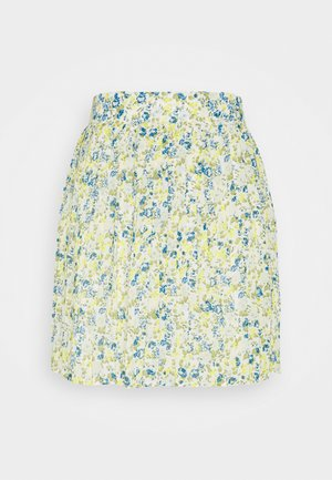 VIJEMO SKIRT - Mini skirt - cloud dancer