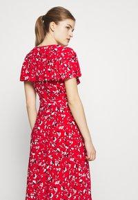 Lauren Ralph Lauren - PRINTED MATTE DRESS - Žerzejové šaty - red - 4