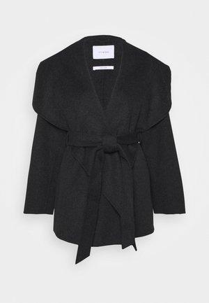 CATNIP SEED - Klasický kabát - anthracite