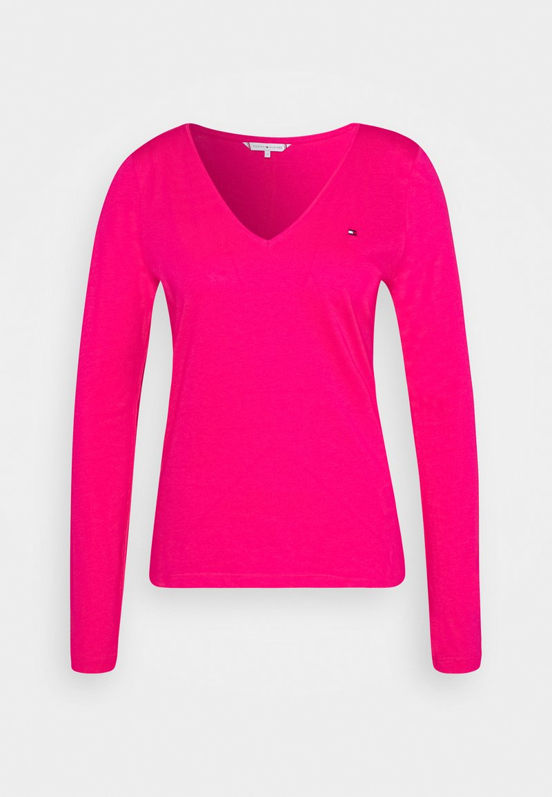 Tommy Hilfiger - REGULAR CLASSIC - Long sleeved top - bright jewel