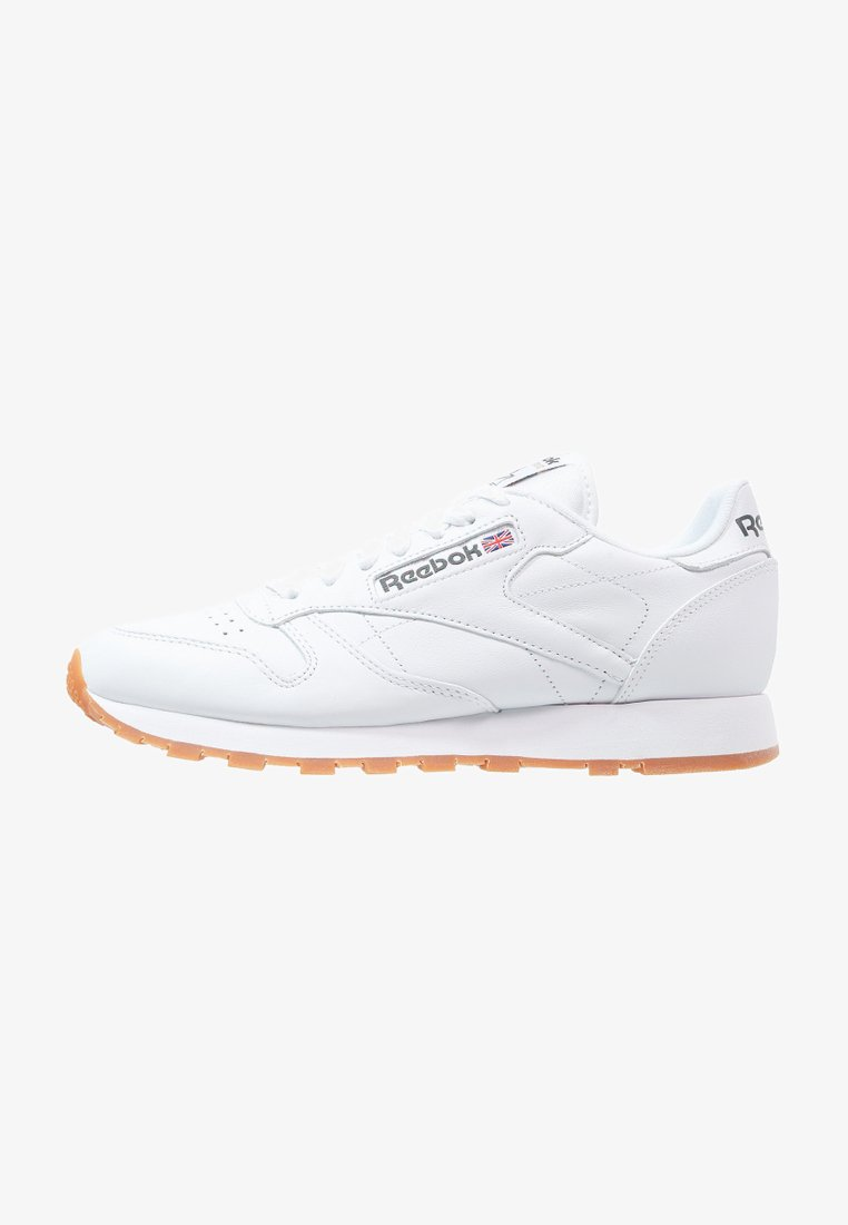 Reebok Classic - CLASSIC LEATHER LOW-CUT DESIGN SHOES - Sneakersy niskie - white