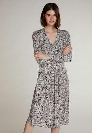 MIT DALMATINERMUSTER - Day dress - white black