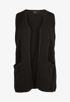 MIT TASCHEN - Waistcoat - black