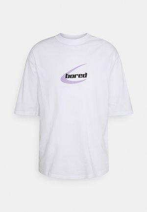 OVERSIZED FIT UNISEX - T-shirts print - white