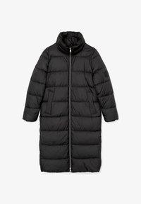 Marc O'Polo DENIM - LONG PUFFER COAT - Winter jacket - black - 5