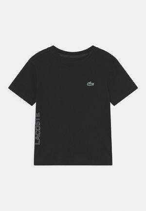 NAMING UNISEX - T-shirt med print - black