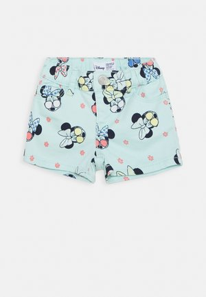 TODDLER GIRL  - Denim shorts - soft jade