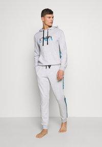 Emporio Armani - Pantaloni del pigiama - melange grey - 1