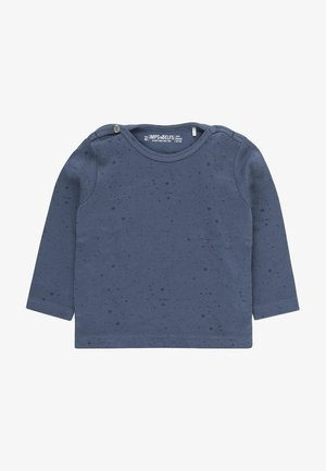 JIP2 - Long sleeved top - steal blue / dark steal blue