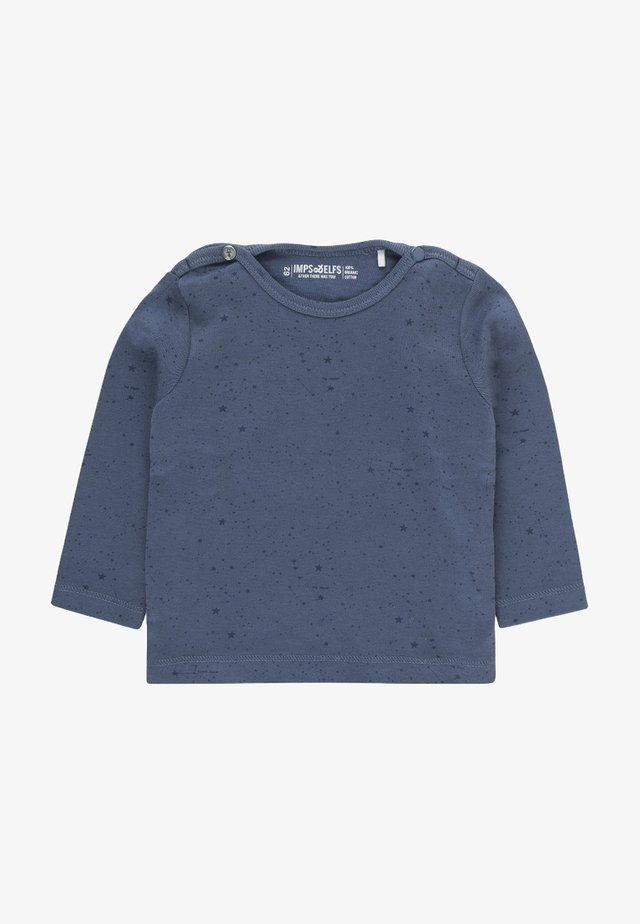 JIP2 - Longsleeve - steal blue / dark steal blue